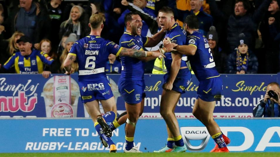 Warrington face Wigan at Old Trafford