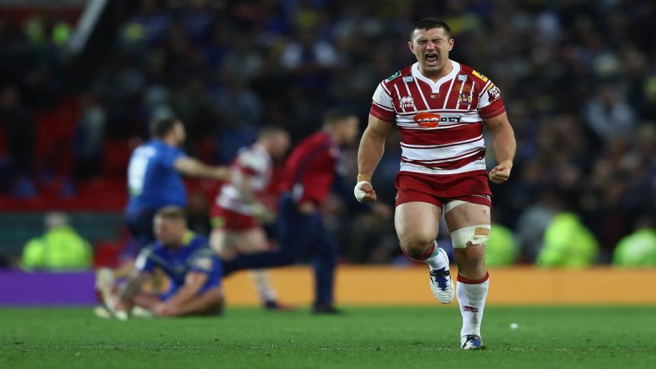 Wigan Warriors prop Ben Flower