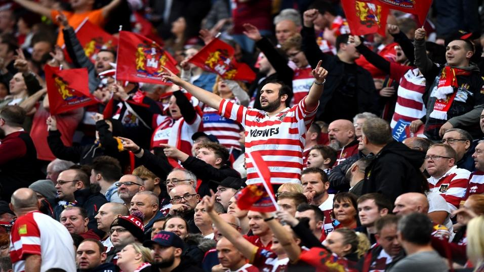 Wigan Warriors supporters