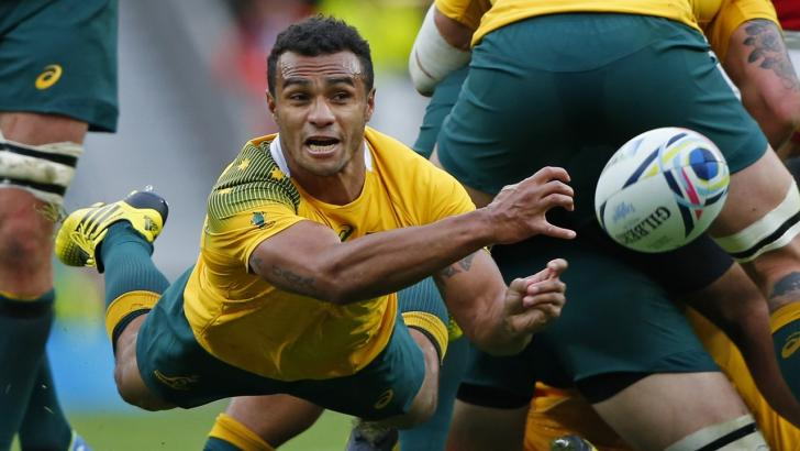 Will Genia from the Rebels