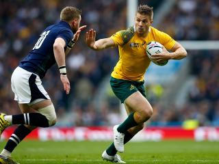Aussie star Drew Mitchell is one try from a World Cup record