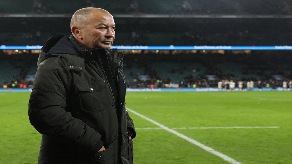 England boss Eddie Jones