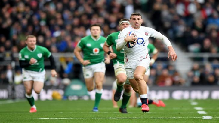 England wing Jonny May