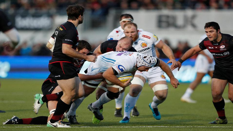 Exeter pulled off a rare win at Saracens last weekend