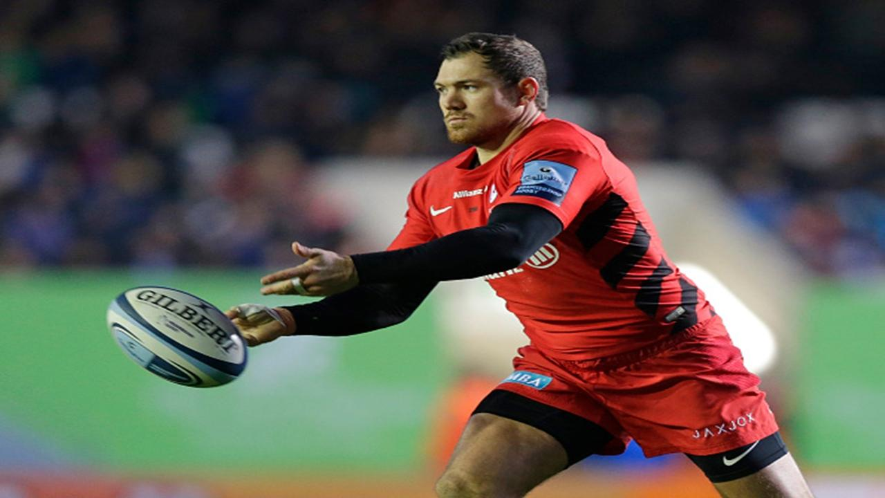 Saracens back Alex Goode
