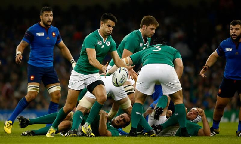 Ireland proved too strong for France in their last match which ensured they topped the pool