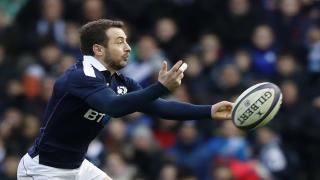 Greig Laidlaw starts for Scotland against France this weekend