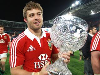 Leigh Halfpenny was Lions man of the series in 2013