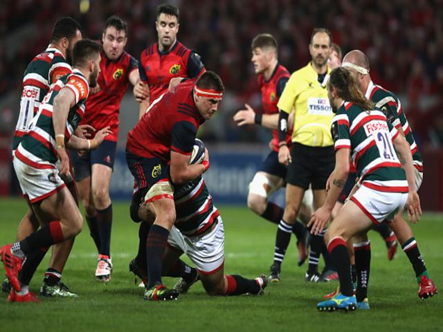 Leicester suffered a mauling at the hands of Munster last weekend