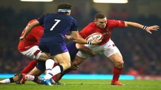Wales winger George North