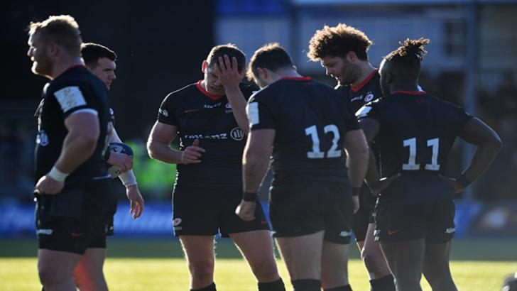 Saracens will be relegated at the end of this season