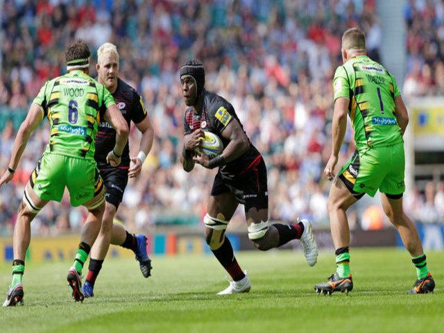 Saracens brushed aside Northampton at Twickenham in their season opener