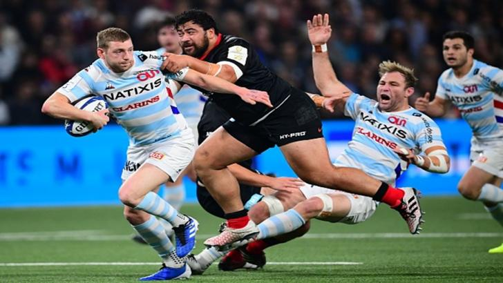 Saracens were beaten by Racing 92 in the first pool match