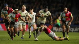 Maro Itoje suffered a fractured jaw during Saracens' defeat at Harlequins