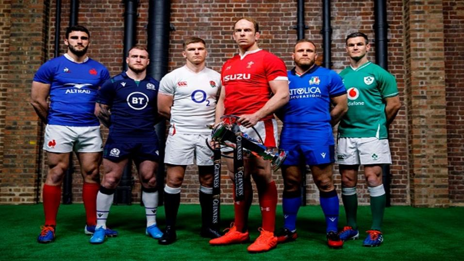 The captains for this season's Six Nations