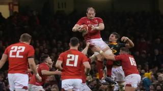 Wales captain Alun Wyn Jones