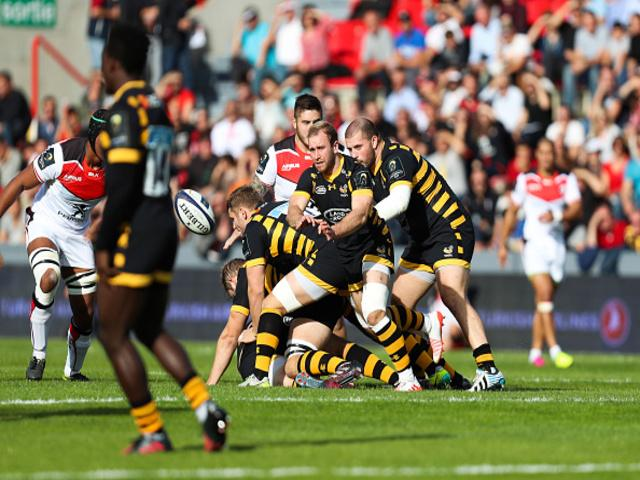 Wasps reached the last eight of the competition after a series of exceptional performances in the pool stage