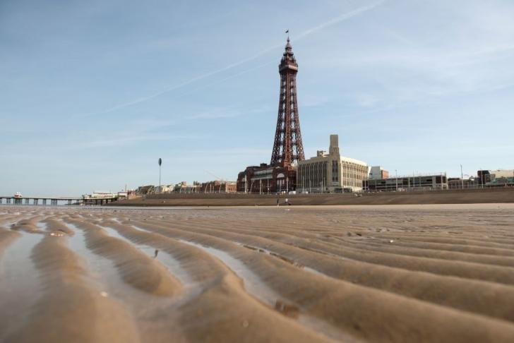 Blackpool was the scene of this weekend's Strictly