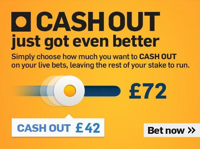 Cash in cash out bettingadvice boylesports betting rules basketball