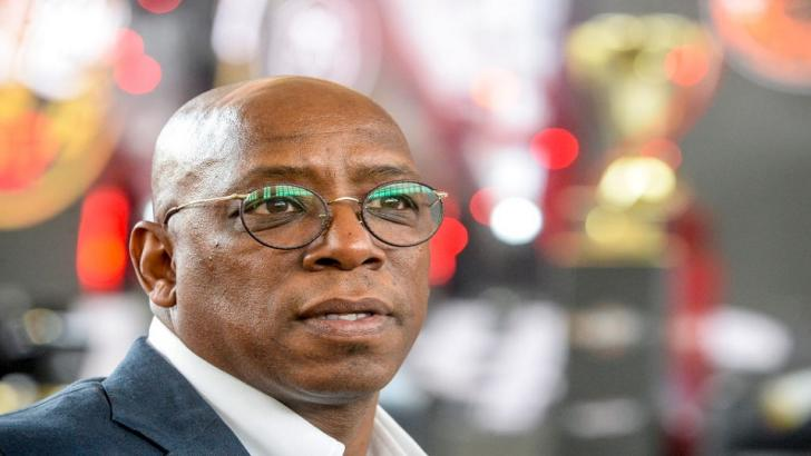 Ex-footballer Ian Wright