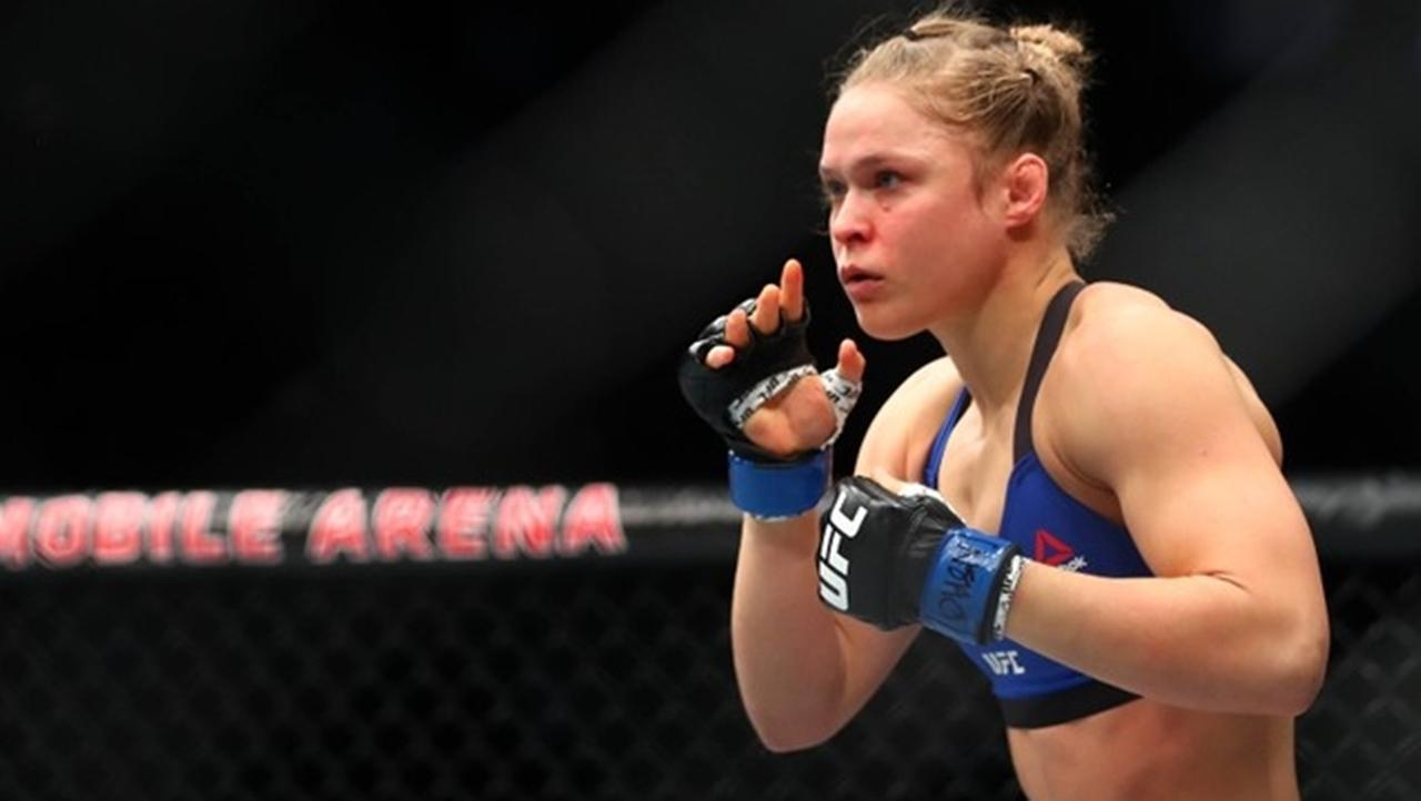 WWE and UFC performer Ronda Rousey