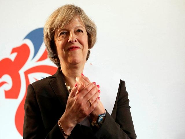Theresa may (above) probably won't be clapping if Stormzy wins the Mercury Music Prize