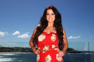 Geordie Shore TV star Vicki Pattison - the new jungle favourite