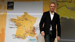Road to nowhere? Chris Froome at the 2018 Tour de France launch