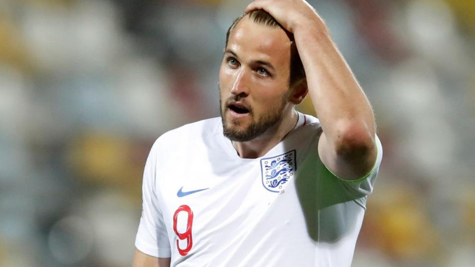 England and Tottenham striker Harry Kane