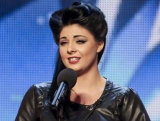 Lucy Kay is a warm favourite for tonight's third BGT semi-final