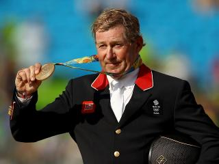 Old Gold - 58-year-old Nick Skelton has a story to tug at the heartstrings.