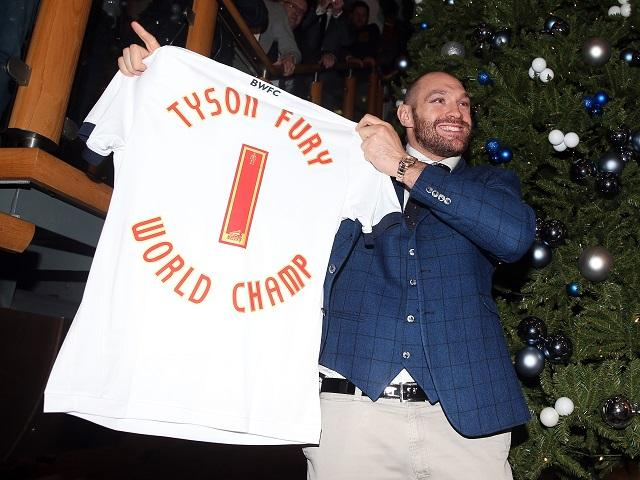 Tyson Fury is number one - but not when it comes to the SPOTY voting public