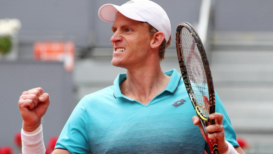 South African Tennis Player Kevin Anderson