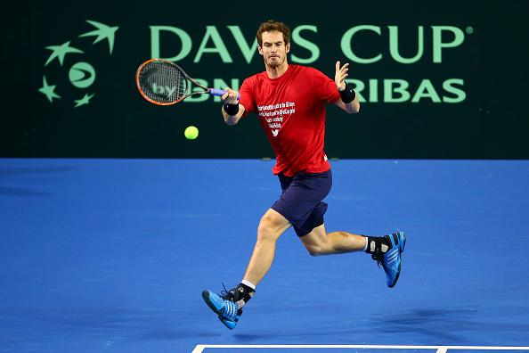 Murray can lead GB to the final, where they may well face Belgium