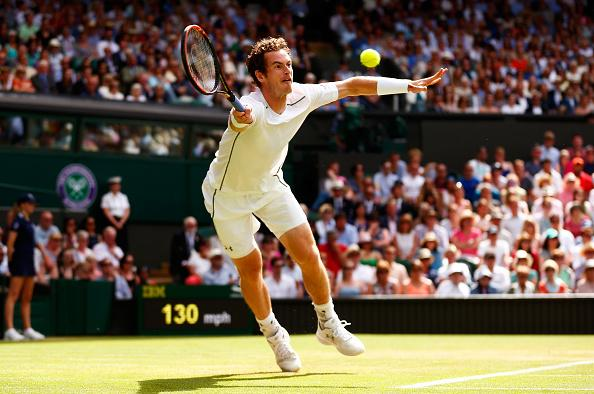 Andy Murray will face Roger Federer on Friday at SW19
