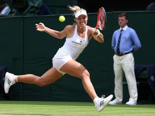 Angelique Kerber looks to be in excellent form at the moment