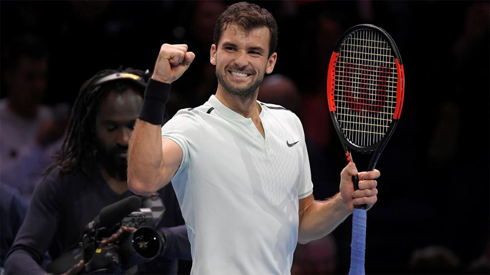 Bulgarian Tennis player Grigor Dimitrov