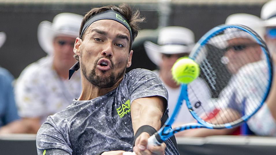 Italian Tennis Player Fabio Fognini