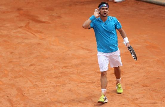 Fabio Fognini will enjoy the slow conditions in Croatia...