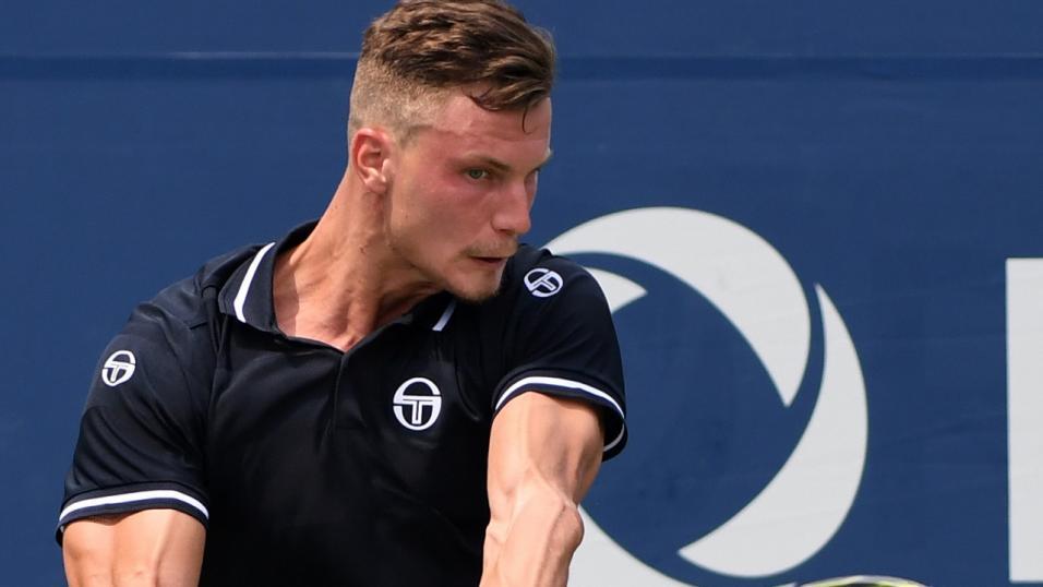 Hungarian Tennis Player Marton Fucsovics