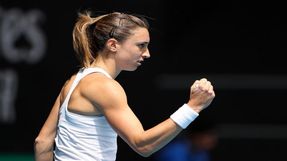 Croatian Tennis Player Petra Martic