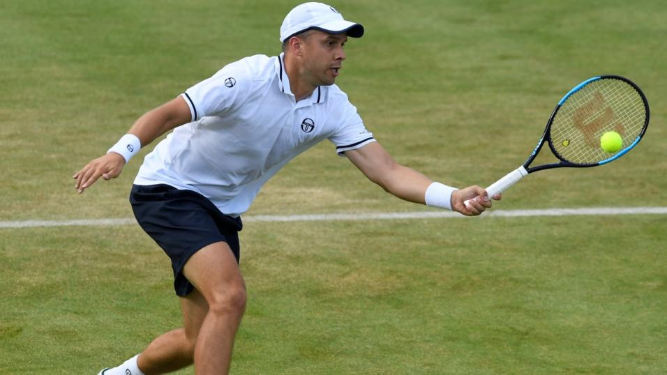 Luxembourg Tennis Player Gilles Muller
