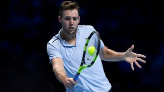 Jack Sock has acquitted himself well at the Tour Finals...