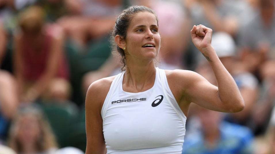 German Tennis Player Julia Goerges