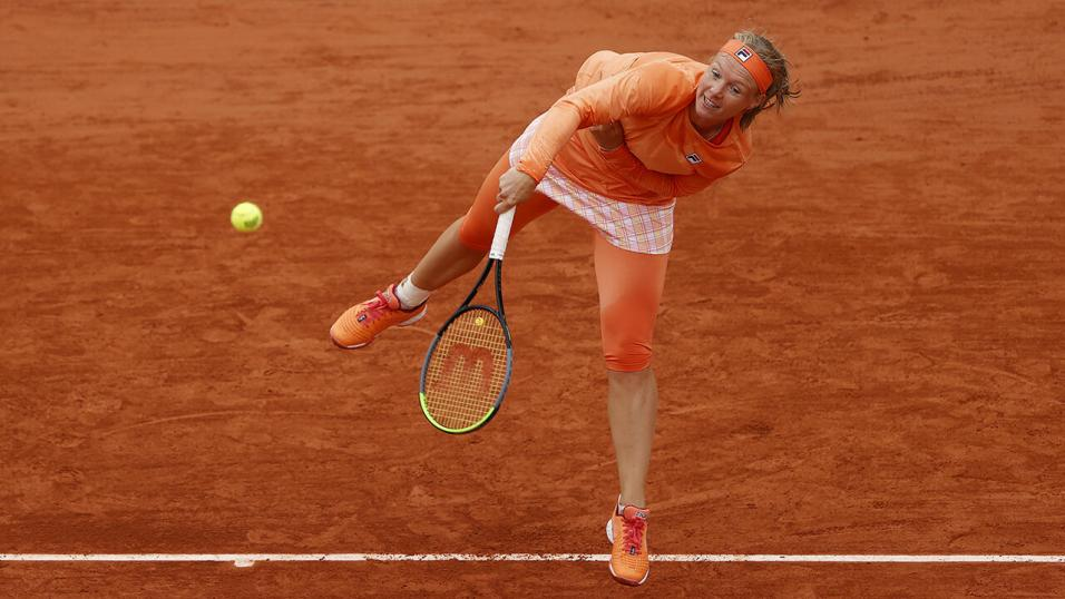Tennis player Kiki Bertens