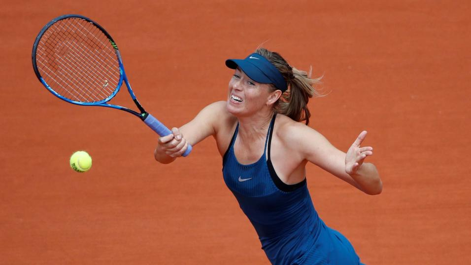Sharapova dumped out by clinical Muguruza