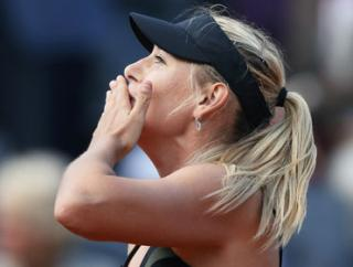 Maria Sharapova is now only seven Roland Garros titles away from equaling Rafael Nadal