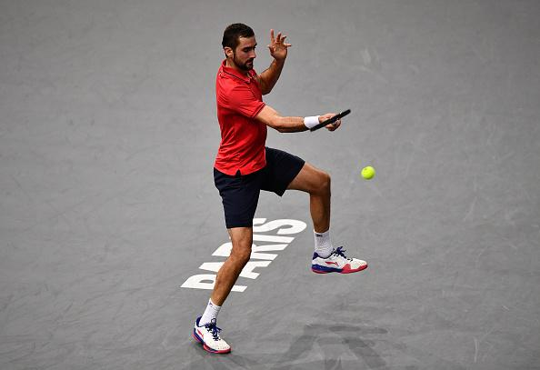 Marin Cilic was bageled by Adrian Mannarino on Saturday...