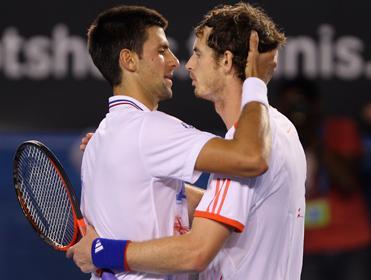 Australian Open Final Andy Murray Versus Novak Djokovic 1 February 2015