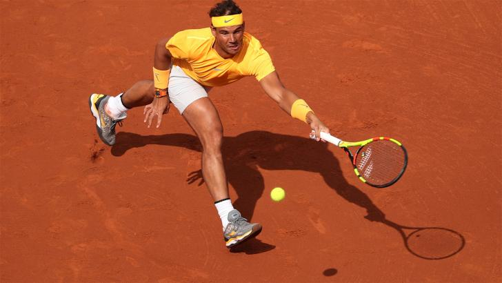 Nadal at French Open